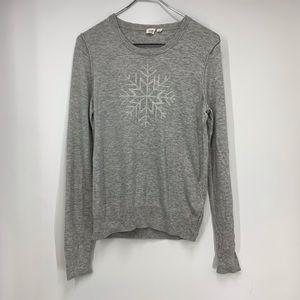 Gap snowflake sweater wool  medium